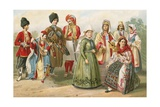 West Aryan Types of Eastern and Northern Europe Giclee Print by  North American