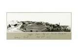Jaffa from the Top of the French Hospital Looking West, 2nd December 1917 Giclee Print by Capt. Arthur Rhodes