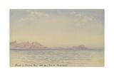 Sunset in Simon's Bay, Oct 1901 Giclee Print by Edward Adrian Wilson