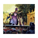 Maria Petipa Dancing Giclee Print by Andrew Howat