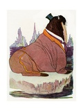 "'Old Mr. Walrus', 1913 Giclee Print by M.T. ""Penny"" Ross"
