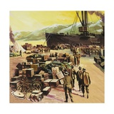 Battle in the Baltic Giclee Print by Gerry Wood