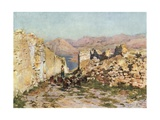Monte San Giuliano, the Ancient Eryx Giclee Print by Alberto Pisa