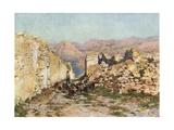 Monte San Giuliano, the Ancient Eryx Giclee Print by Alberto Pisa