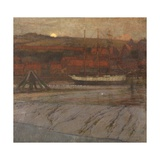 Low Tide on the Esk, Near Whitby Giclee Print by James Valentine Jelley
