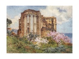North-East View of the Cathedral, Cefalu Giclee Print by Alberto Pisa