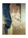 Acrobats Waiting to Rehearse, 1935 Giclee Print by Glyn Warren Philpot