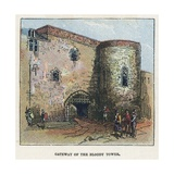 Gateway of the Bloody Tower Giclee Print by  English School