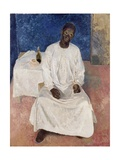 Negro Thinking of Heaven, 1937 Giclee Print by Glyn Warren Philpot