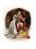 Esther Crowned by King Ahasuerus Giclee Print by John Lawson