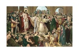 Christ Rejected Giclee Print by Benjamin West