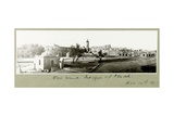 Wall around the Mosque of Omah, 14th December 1917 Giclee Print by Capt. Arthur Rhodes