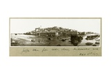 Old Jaffa, Showing Andromeda's Rock, 2nd December 1917 Giclee Print by Capt. Arthur Rhodes
