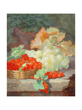Redcurrants and Grapes, 1864 Giclee Print by Eloise Harriet Stannard