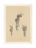 The Head and Neck. Larynx and Vocal Apparatus, with the Muscles, Vessels, and Nerves Giclee Print by G. H. Ford