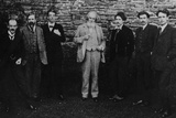 Y.B. Yeats with His Literary Circle, Sussex, 1914 Photographic Print by  English Photographer