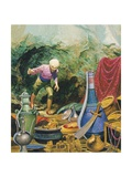 Ali Baba and the Forty Thieves Giclee Print by Don Lawrence