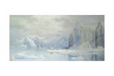 East Glacier, Spitzbergen, 1905 Giclee Print by Tristram Ellis