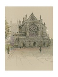 Exeter Cathedral Giclee Print by Cecil Charles Windsor Aldin