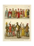 Italian Costume 1300 Giclee Print by Albert Kretschmer