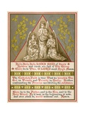 Trinity Time Giclee Print by E. Beatrice Coles