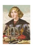 Nicolaus Copernicus Giclee Print by Josep or Jose Planella Coromina