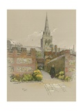 Chichester Cathedral Giclee Print by Cecil Charles Windsor Aldin