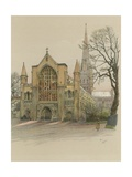 Norwich Cathedral Giclee Print by Cecil Charles Windsor Aldin