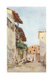 Vanishing Taormina Giclee Print by Alberto Pisa
