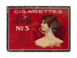 Tin for 100 'Job No. 3' Cigarettes, c.1910 Giclee Print