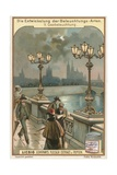 Gas Lights Giclee Print by  European School