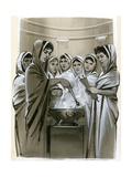 The Vestal Virgins Giclee Print by Angus Mcbride