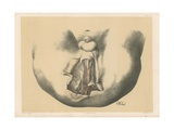 The Perinaeum. Superficial View of the Anterior or Urethral Half of the Male Perinaeum Giclee Print by G. H. Ford