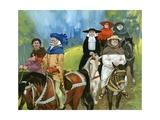 The Canterbury Pilgrims Giclee Print by Angus Mcbride