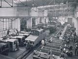 General Electricity Company, Berlin, 1908 Fotografisk tryk af German photographer