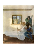 The Passing of Robin Hood Giclee Print by Newell Convers Wyeth
