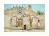 Porch of S. Giovanni, Syracuse Giclee Print by Alberto Pisa