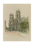 York Minster Giclee Print by Cecil Charles Windsor Aldin