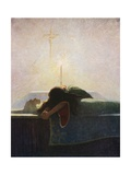 In the Tower of London Giclee Print by Newell Convers Wyeth