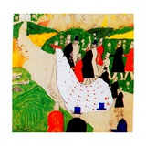 The Wedding, 1907 Giclée-trykk av Kasimir Malevich
