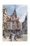 John Knox's House, High Street Giclee Print by John Fulleylove
