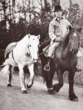 George V's Pony, Jock, 1936 Photographic Print by  English Photographer