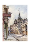 The Canongate Tolbooth, Looking West Giclee Print by John Fulleylove