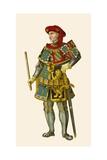 Philip the Good, Duke of Burgundy Giclee Print by Albert Kretschmer