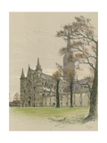 Salisbury Cathedral Giclee Print by Cecil Charles Windsor Aldin
