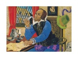 William Shakespeare Writing Giclee Print by Richard Hook