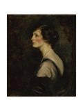 Portrait of Mary Gascoigne-Cecil When Marchioness of Hartington, c.1917-18 Giclee Print by James Jebusa Shannon