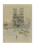 Westminster Abbey Giclee Print by Cecil Charles Windsor Aldin
