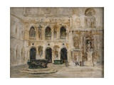 Cortile, Doge's Palace Giclee Print by Emily Murray Paterson