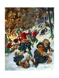 The Massacre of Glencoe Giclee Print by Peter Jackson